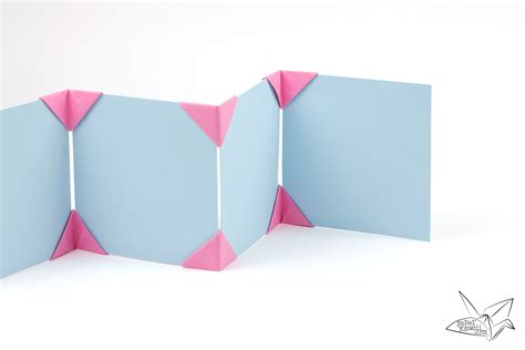 origami frame origami photo frame tutorial make a photo display