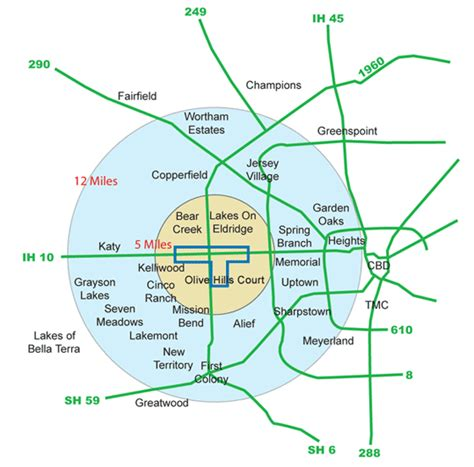 houston map energy corridor master planned communities energy corridor district