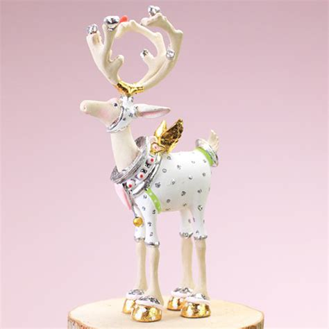 patience brewster moonbeam christmas mini cupid reindeer