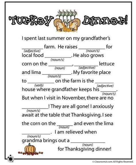 thanksgiving printable games for adults best thanksgiving 2013 printables placemats activities