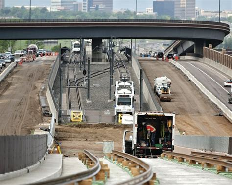 i 225 light rail line will connect the east and south