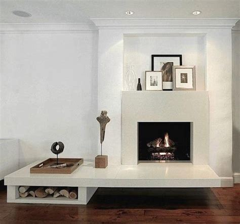 minimalist fireplace 25 cool firewood storage designs for modern homes