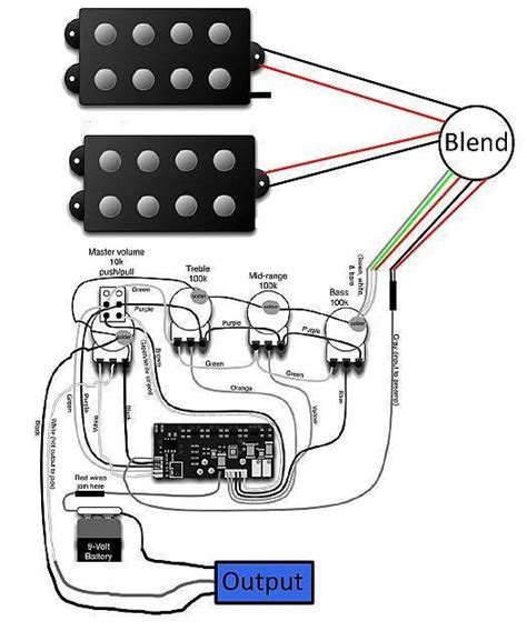 wiring diagram for yamaha bass guitar efcaviation