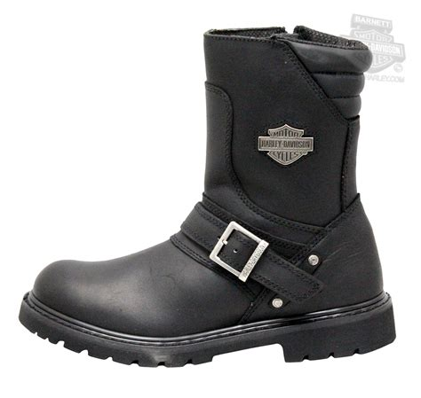 mens harley riding boots 95194 harley davidson 174 mens booker black mid cut riding