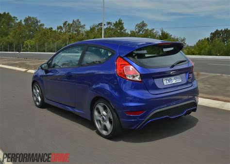 ford fiesta st review video performancedrive