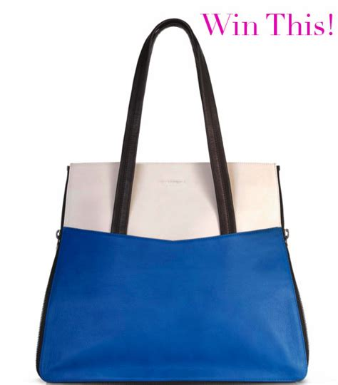 Giveaway Bag - vicki von holzhausen carrera shopper tote giveaway