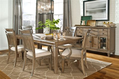 Centerpieces For Dining Room Tables Gavin Rustic Dining Room Set Dining Furniture