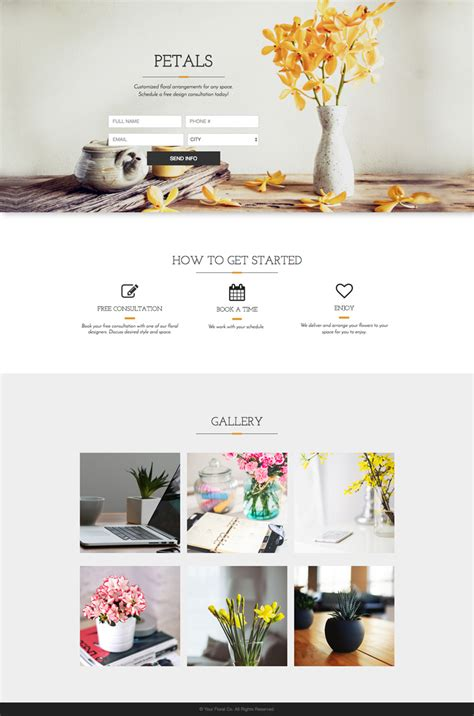Template Thursday 5 New Templates To Grow Your Business Cool Landing Page Templates