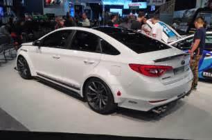2015 Sonata Hyundai 2015 Hyundai Sonata Turbo Jp Edition Rear Three Quarter