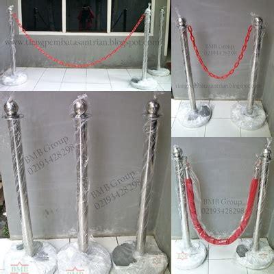Tiang Antrian Bank Kasir tiang pembatas pameran jual tiang antrian stainless dan
