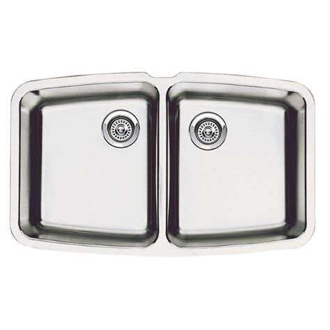 Blanco Performa Undermount Stainless Steel 33 In Medium Blanco Kitchen Sinks Stainless Steel