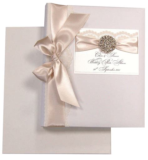 Wedding Album Wrapper Design by Opulence Personalised Wedding Album By Made With