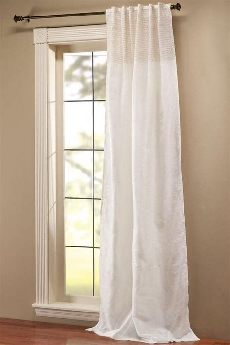 one curtain panel per window rohini drapery panel in cream 42 x 96 4 panels per