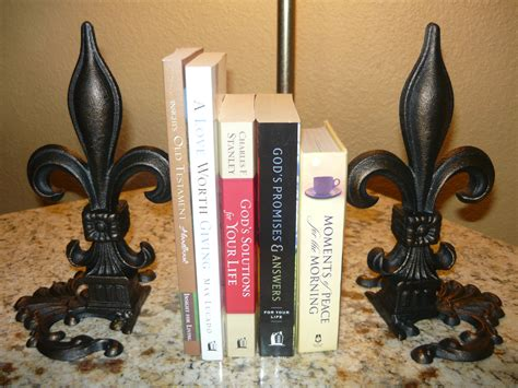 fleur de lis home decor wholesale set of 2 iron fleur de lis bookends old world tuscan