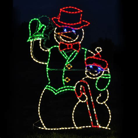 moving decorations shop lighting specialists 4 ft animated waving