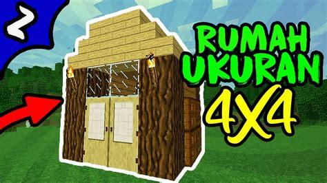 youtube membuat rumah cara membuat rumah survival minimalis ukuran 4x4 di