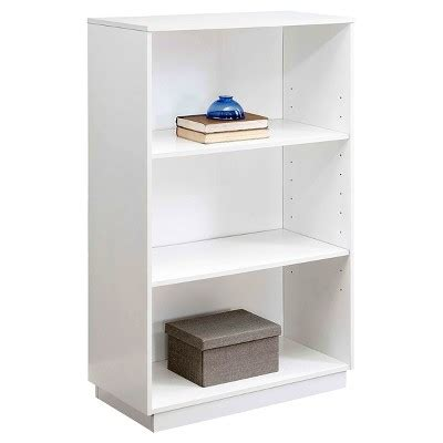 trimble 3 shelf bookcase white whalen target