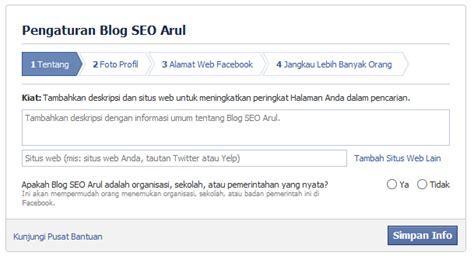 cara membuat fanspage facebook di website cara membuat fanspage di facebook blog seo arul