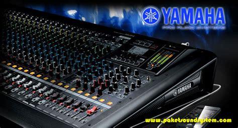Audio Mixer Yamaha Terbaru mixer sound system yamaha mgp24x dan mgp32x paket sound