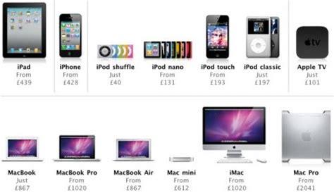 apple price apple bumps uk prices as vat rises mac rumors