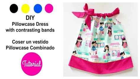 pillowcase dress pattern youtube diy vestido ni 241 a pillowcase combinado y ii youtube