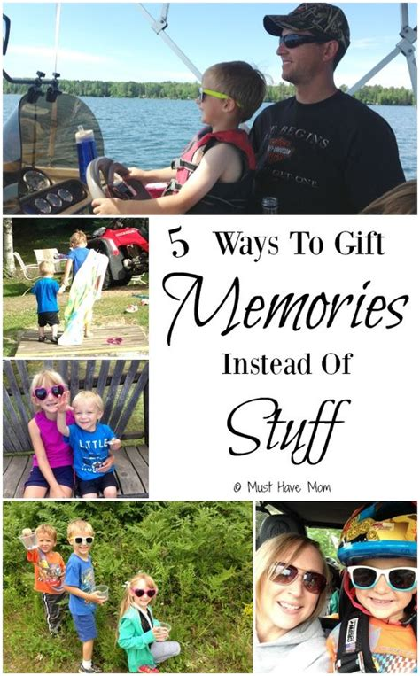 5 ways to gift memories instead of stuff this christmas