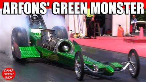 monster truck drag race 2013 jet car drag racing green monster nostalgia classsic