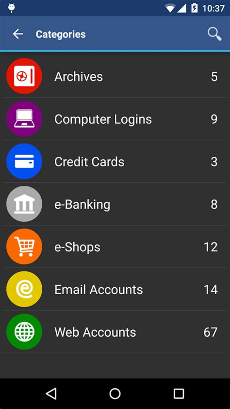 password manager android awallet password manager android apps on play