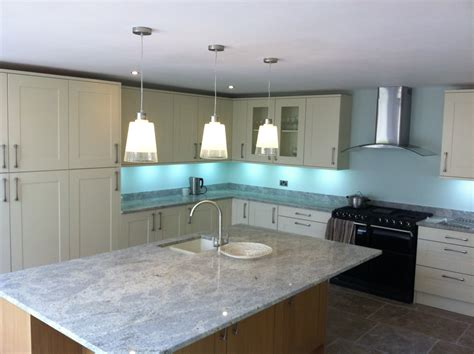 luxury kitchen electrical fit wiring and installation