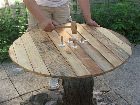 Construire Table De Jardin En Bois