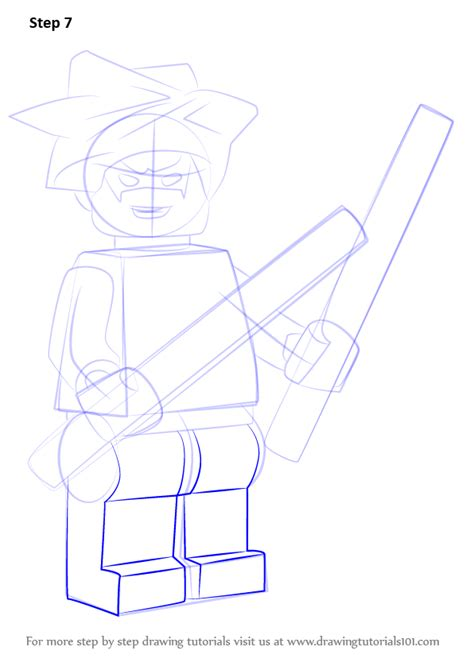 learn how to draw lego nightwing lego step by step