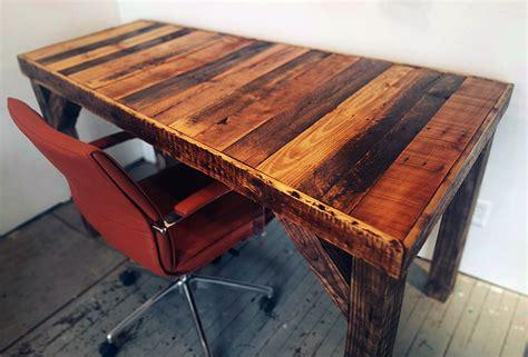 reclaimed wood desk diy 33 stunning reclaimed wood desks office reclaimed wood desk wood desk desk