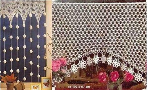 cortinas  crochet las manualidades crochet pinterest patrones charts  crochet