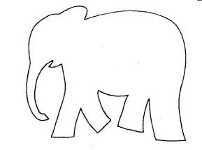 Elephant Template by Search Results For Elephant Cut Out Templates Calendar