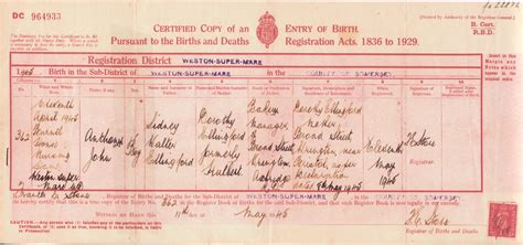 Uk Birth Record Ellingford Edelskov