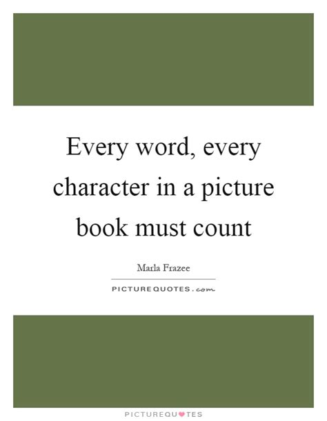 picture book word count every word every character in a picture book must count