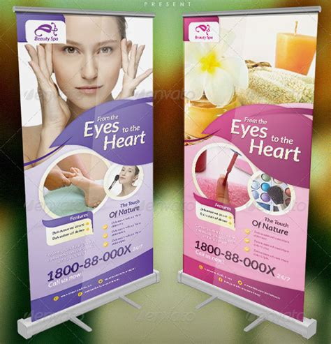 Design Banner Spa | 20 great spa and beauty salon banner psds design freebies