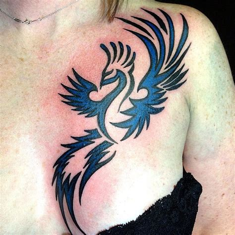 phoenix tattoo on chest epic phoenix tattoo on chest real photo pictures images