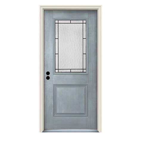glass door wendover jeld wen 36 in x 80 in right 1 2 lite wendover