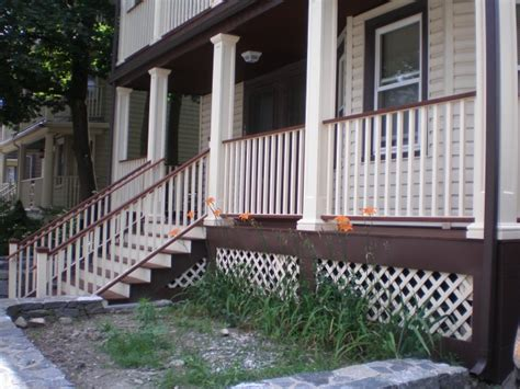 house rubber st decker porch addition colony home improvement