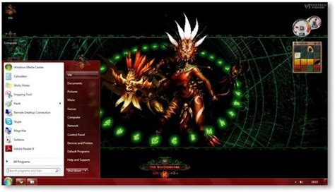 vikitech themes facebook diablo 3 diablo 3 f 252 r den windows 7 desktop