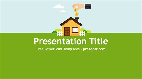 house powerpoint template free assets powerpoint template prezentr powerpoint