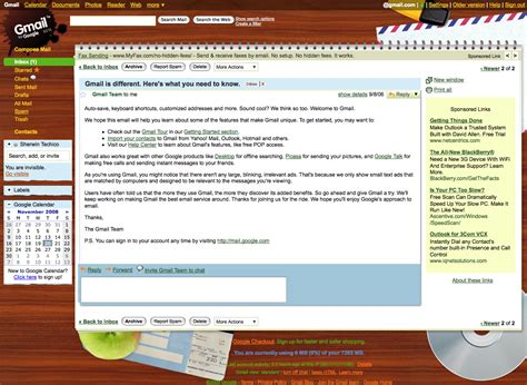 themes for gmail email gmail themes just a memo