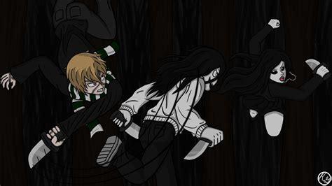 jeff the killer vs chica jeff vs vs liu by kaneko g on deviantart
