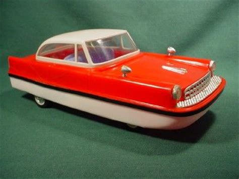 car boat from the 1960s vintage 1960s hicar toy hipious model car boat on