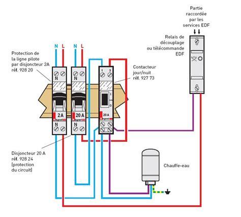 fusible contacteur jour nuit 4073 schema contacteur chauffe eau electrique