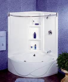 Corner Bath Shower Combo Pin By Angie Fischer On For The Home Pinterest