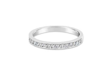 grain set wedding band jewellery by gold