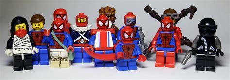 Lego Sy Spider spider verse lego comicbooks