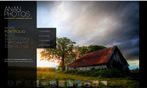 themes ideas for photography 72 best wordpress photography themes 2013 themes4wp